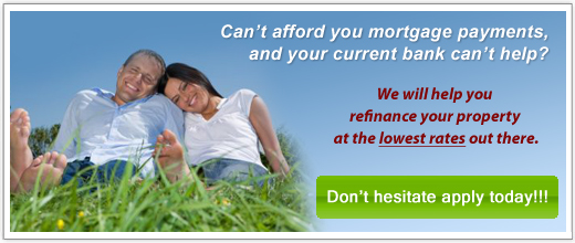 Refinance your current mortgage at a lower rate